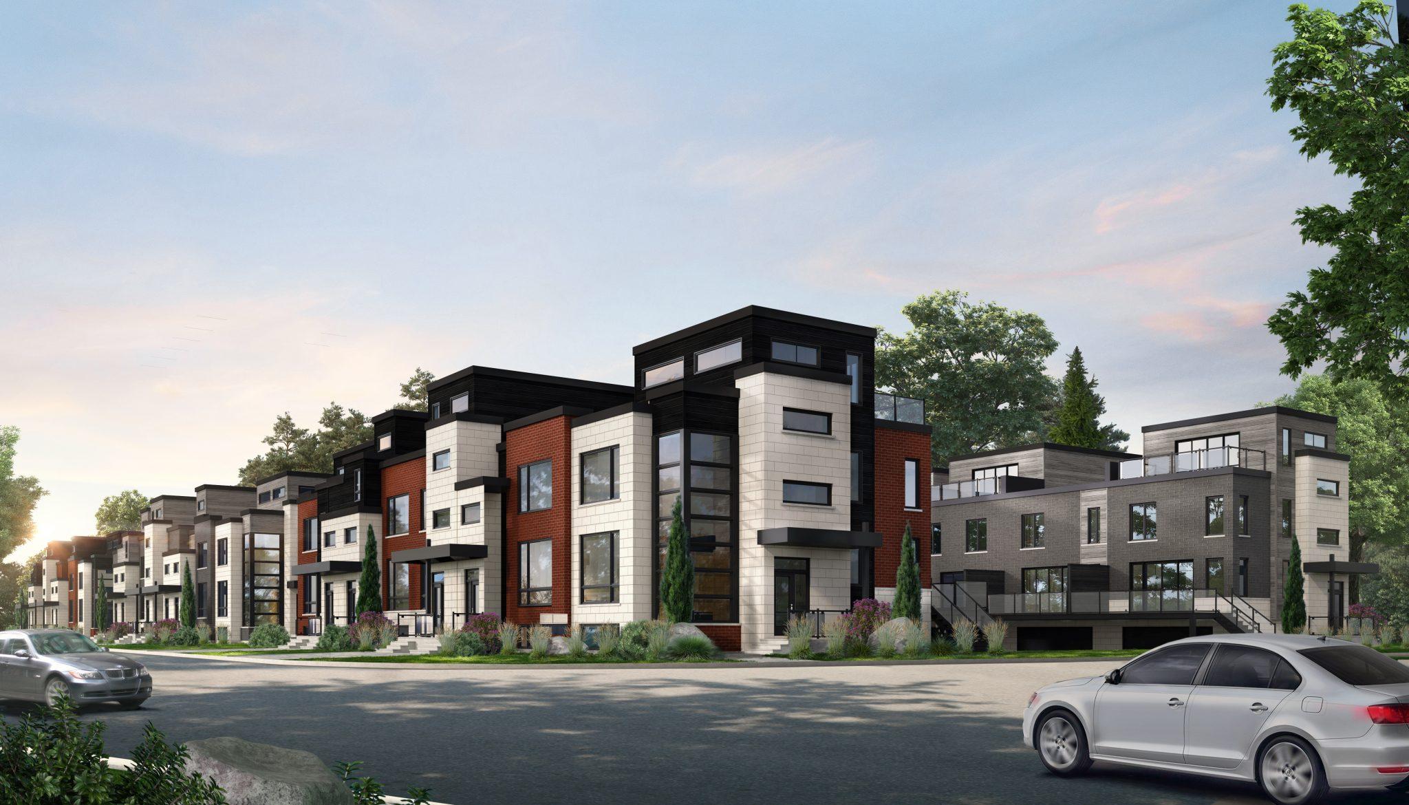 Notre Galerie - Maisons de ville neuves à vendre à Candiac ...