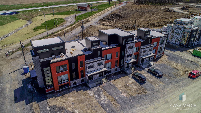 Vue aérienne - Kaia maison de ville